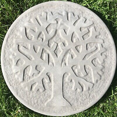 TREE OF LIFE STEPPING STONES - (SET OF TEN) - CHARCOAL COLOUR