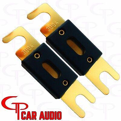 (2) 400 AMP ANL Fuses GP Car Audio  Car Amp Fuses