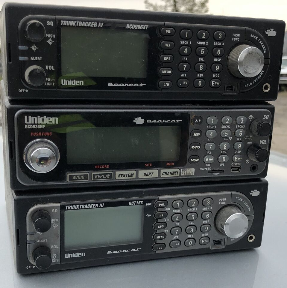 Car Radio And Various Car Parts Scanners And Phones