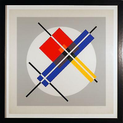 Jean Gorin (Mondrian; De Stijl) handsigniert und nummeriert, Serigraphie