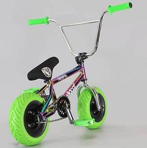 Oil Slick Mini BMX Wildcat Rocker Bike Neo Chrome Murrumba Downs Pine Rivers Area Preview