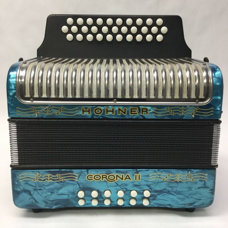 Hohner Corona 2 II 31 Button Accordion Key FBE