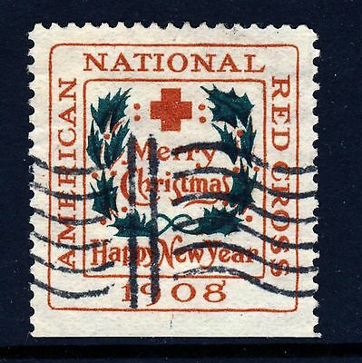 1908 USA Christmas Seal (WX4) Type II . Centering! Used