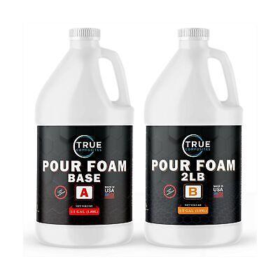 True Composites Liquid Urethane Pour Foam Base-2 Part Closed Cell Rigid Pour ...