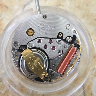 Cartier Quartz Movement Calibre 81 - NEW