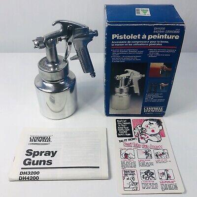 Campbell Hauseld General Purpose Spray Gun - Siphon Feed 1 QT Canister (Campbell Hausfeld General Purpose Spray Gun Dh4200)