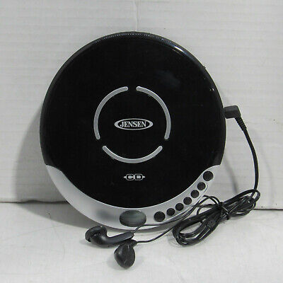 Jensen Model CD-60C Personal CD Media Player w/ Headphones Tested and Working