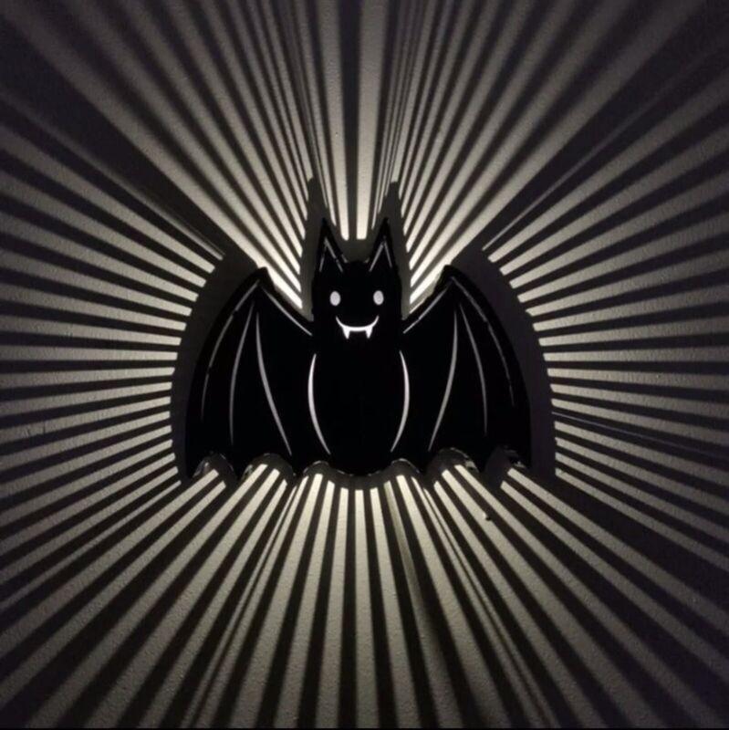 Target Halloween 2021 Hyde And Eek! Led Bat Light Up Sign. Silhouette Black Bat