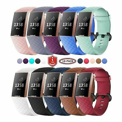 Fitbit Charge 3 / Charge 4 Replacement Wrist Bands Smart Watch Bracelet Band Fit Tech Parts