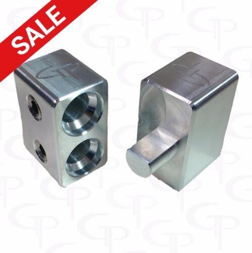 Dual Inputs 1/0 2/0 to 1/0 AWG GAUGE GP Car Audio PAIR Amp Inputs MADE IN USA