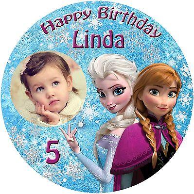 nbild Disney Eiskönigin Frozen Elsa und Anna Fototorte (14) (Anna Und Elsa)