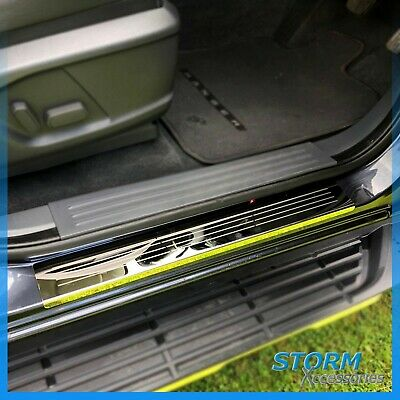 SENYAZON Car Rear Scuff Plate Trunk Sill Plate Bumper Guard Protector Carbon Fiber Pad Cover Car Door Sill Bumper Sticker
