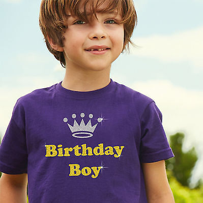 BIRTHDAY BOY - Boys' Birthday T Shirt - Great gift idea for his special day ()