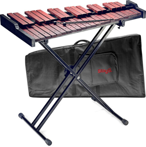 Xylophone Stagg Xylo-Set 37 Xylophone with Case