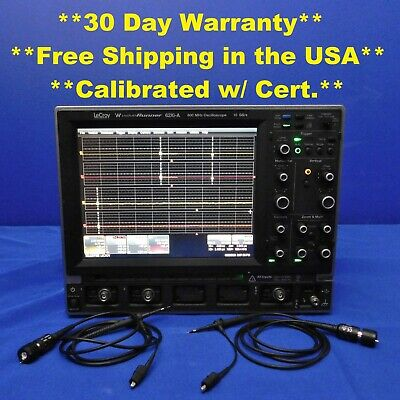 Lecroy Waverunner 62xi-a Mso Oscilloscope 600 Mhz With Option Vl