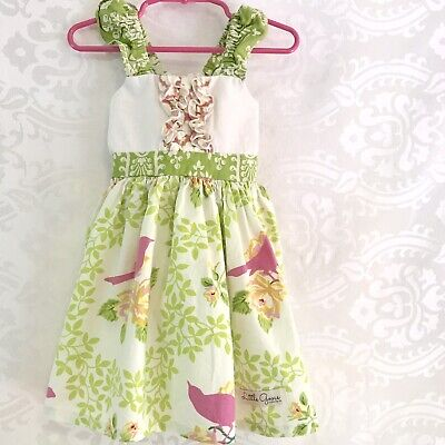 Little Goose Clothing Toddler Girls Dress 3T Boutique Made In USA - Little Girl Clothes Boutiques