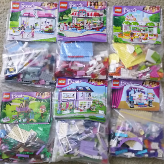 12 Lego friends sets