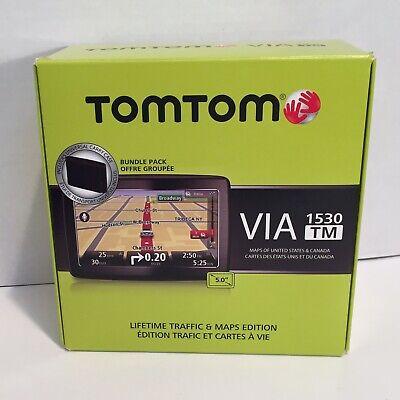 """TomTom VIa 1530TM 5"""" Touchscreen GPS"""