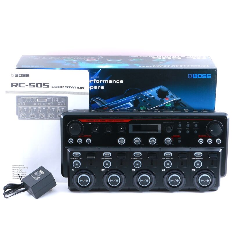 Boss RC-505 Loop Station Looper Guitar Effects Pedal P-14943