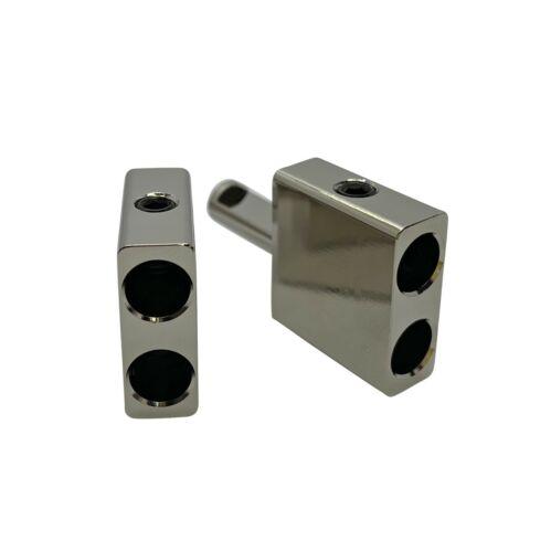Pair Of Dual 8 Gauge to Single 8 Gauge Amplifier Speaker Inputs