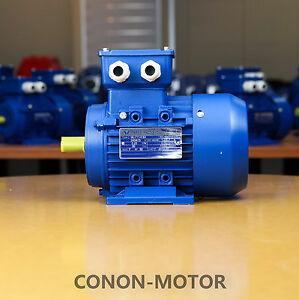 Electric-motor-Three-phase-415v-0-25kw-1-3HP-1400rpm-shaft-14mm