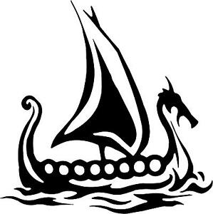 Viking-Ship-Decal-3-75-x3-75-select-color-vinyl-sticker