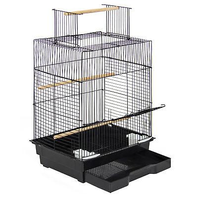 "Pet Supplies 24"" Bird Cage W/ Open Play Top- Ideal For Parakeets, Small Birds"