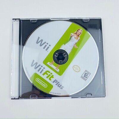 Wii Fit Plus Disk only tested Fast Free Shipping Fitness Yoga Balance