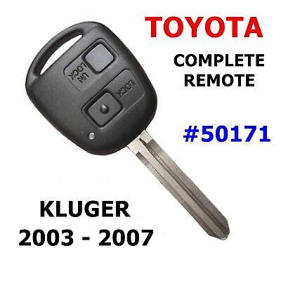 Toyota KLUGER Remote Car Key Transponder 2003 2004 2005 2006 2007 50171-4D67
