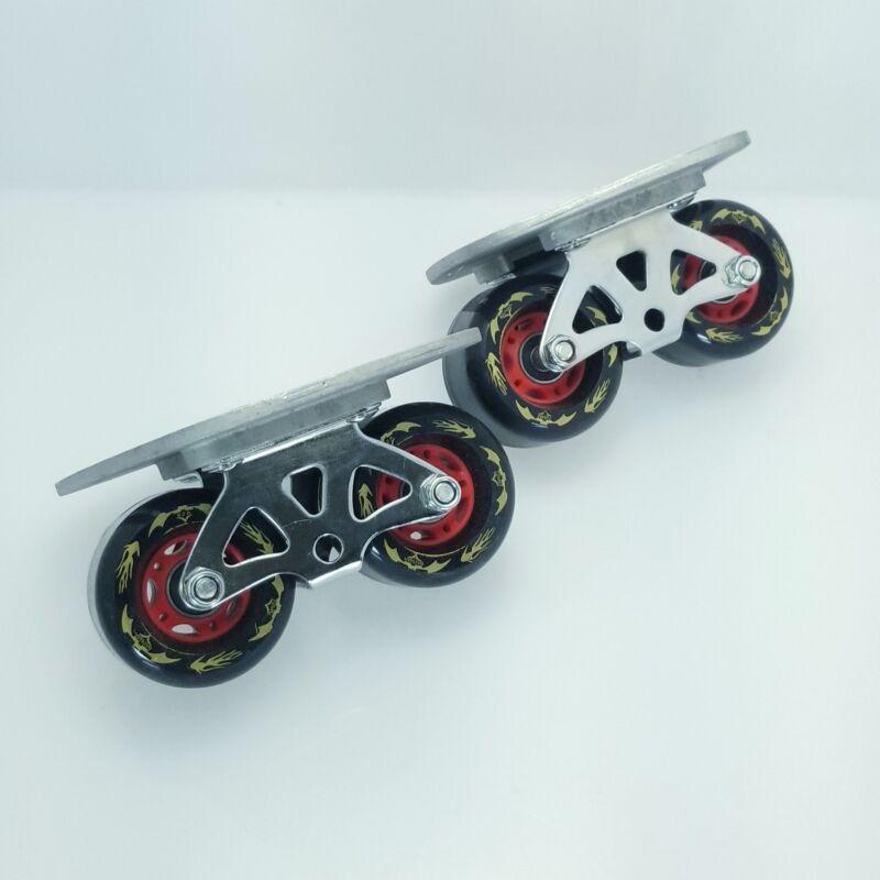 GXFC Batman Portable Roller Road Drift Skates