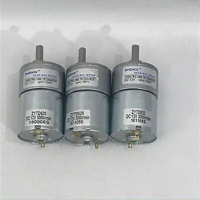 Zhengk Gear Box Motor Zytd520 - Set Of 3