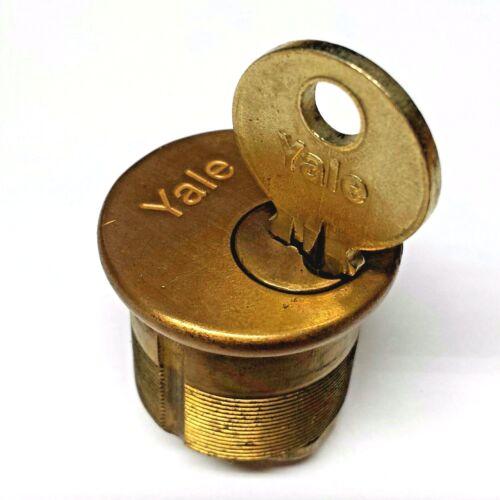 Yale Sale! 1 Mortise Cylinder Lock w Key. Locksmith Practice Lockpicking