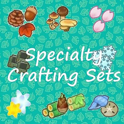 Specialty Crafting Items / Various Bundles in Description / New Horizons