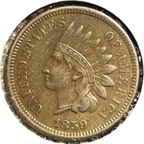 1859 1C Indian Cent (56363)