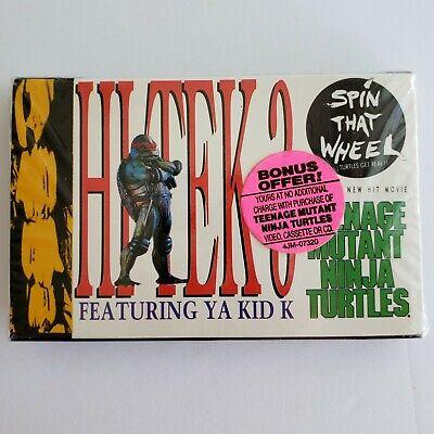 TMNT Movie Sound Track 1990 Bonus Cassette Teenage Mutant Ninja Turtles RARE