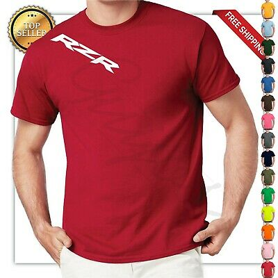 - RZR SHOULDER LOGO HIGH-QUALITY T-SHIRT back / front PRINTING  2 DAYS SALE!