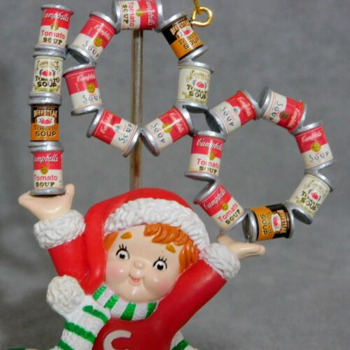 Christmas Ornament CAMPBELL KID Soup