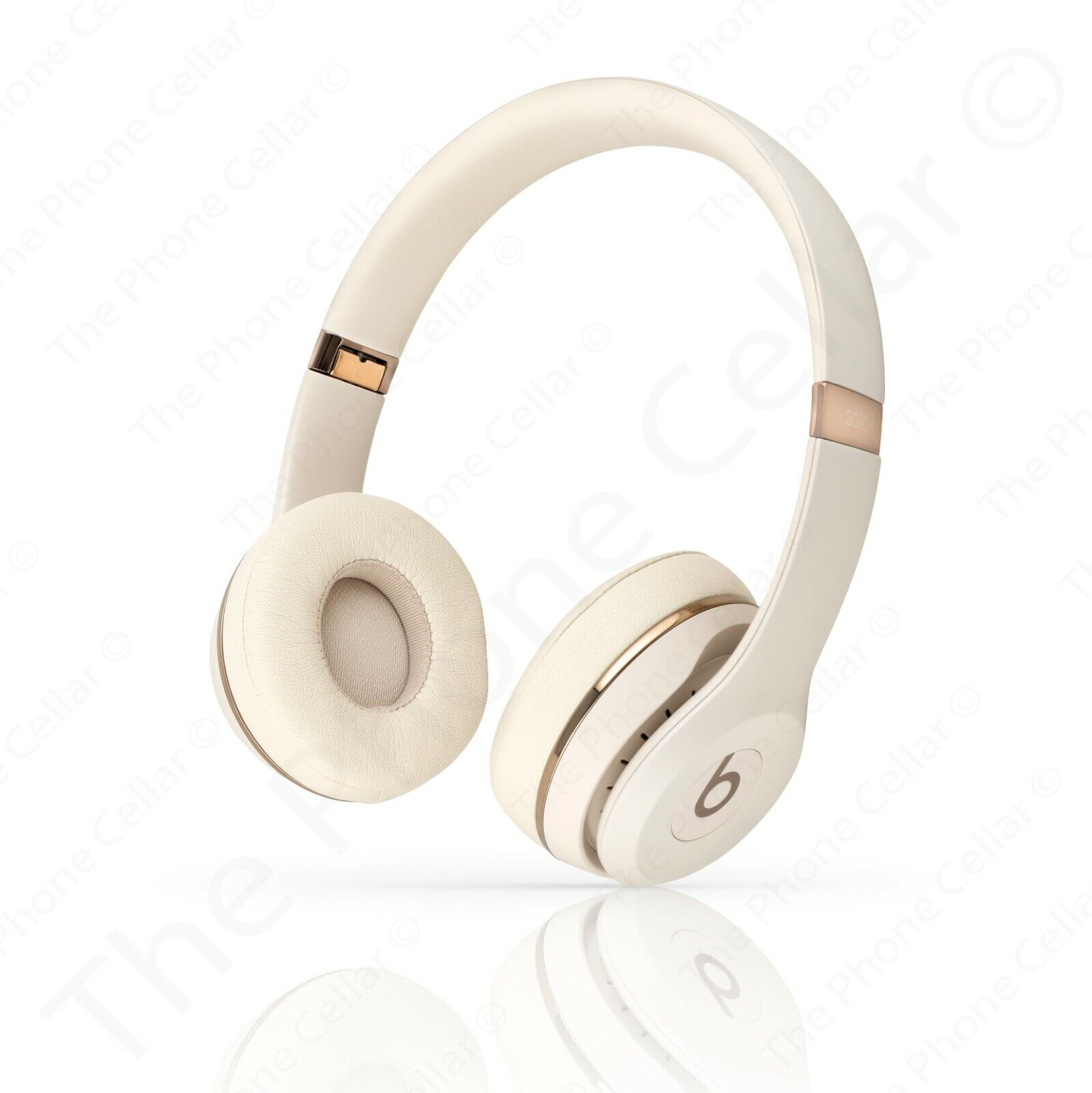 Apple Beats By Dr Dre Solo3 Wireless Stereo Headphones Muh42ll A Satin Gold 190198936752 Ebay