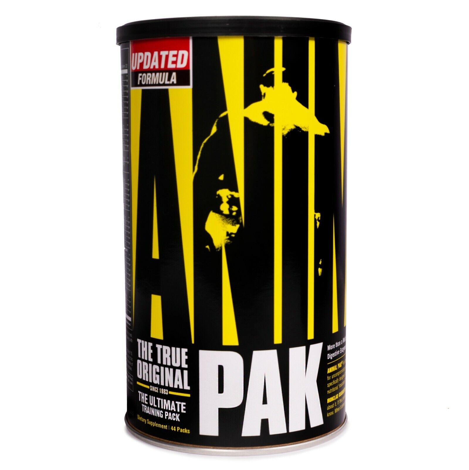 Universal Nutrition Animal Pak 44 ct. Bodybuilding Multi-Vitamin Choose Quantity
