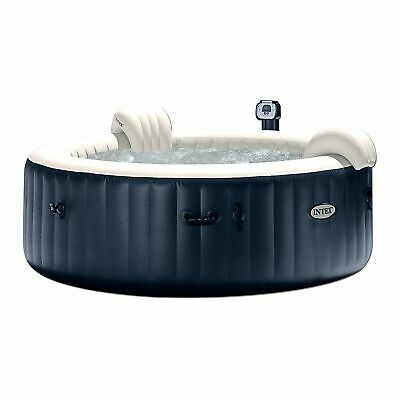 Intex PureSpa 75 Inch Portable Bubble Jet Spa 6 Person Infla