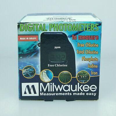 Milwaukee Mw10 Free Chlorine Mini Colorimeter Photometer Meter Instruments