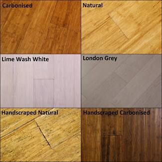 14mm Premium Strand Woven Bamboo Flooring - 30 Years Warranty Dandenong South Greater Dandenong Preview