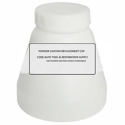 Bottles Hopper Cup For Powder Coating System Sprayer Wiht Lid 00048