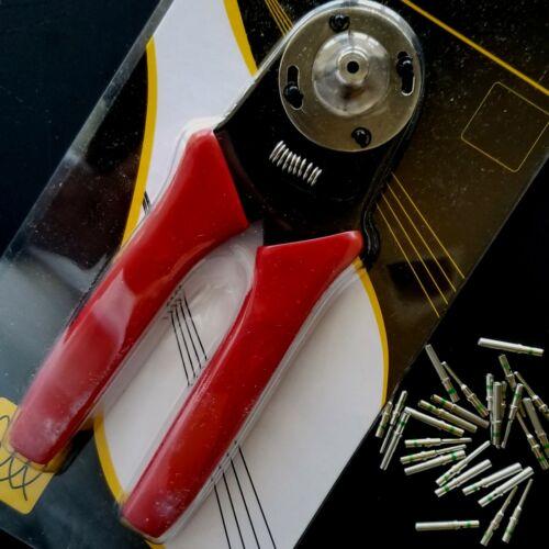 Deutsch 4-Way Indent Closed Barrel Terminal Crimp Tool 16-20 AWG +20 solid pins