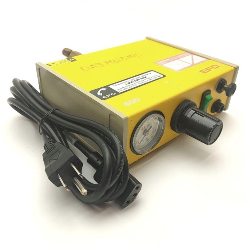 Nordson EFD 800 Precision Fluid Dispenser 80-100PSI Supply 0-100 Gauge 120VAC