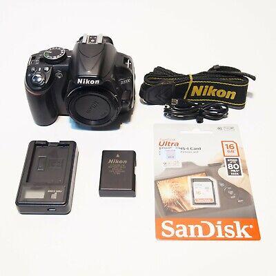 [No scratch!!] Nikon 14.2MP DSLR D3100 Body only(#4828 shutter counts)