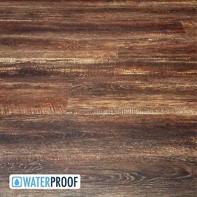 SAMPLE of Deep Leathery Brown Luxury Vinyl Plank LVP Flooring - Westminster Luxury Vinyl Plank Flooring