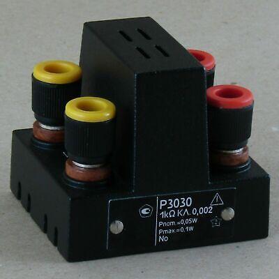 1 Kohm 0.002 P3030 Standard Resistor Resistance