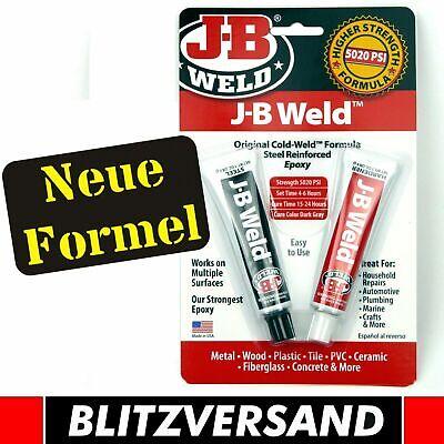 JB WELD 8265s stärkster Zweikomponenten Kleber Hitze + Säurebeständig bis 300°C