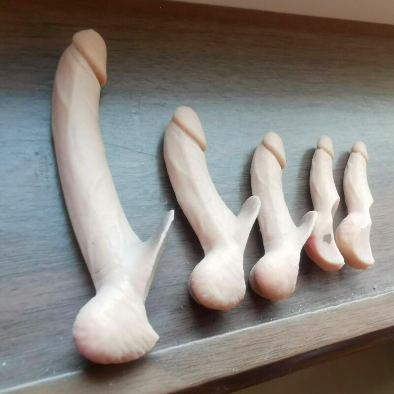 "1/6 Male Genitals Penis Extra Large for 12"" Figure Muscle Phicen M30 M31 M33 M34"
